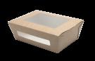 Контейнер картонный с окном 600 мл (Eco Salad 600)