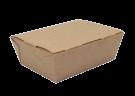 Картонный контейнер 600мл ламинированный (eco lunch 600)