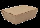 Картонный контейнер 1100мл ламинированный (EcoLunch 1000)