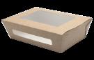 Контейнер картонный с окном 1000мл (Eco Salad 1000)