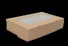 Картонный контейнер с окном 200/120/40 1000мл  (самосборный Tabox 1000)