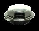 Пластиковый контейнер 650мл с крышкой (комплект Salat-Box)