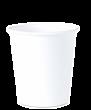 """Бумажный стакан для горячих напитков 350мл (1-сл) """"белый"""""""