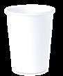 """Бумажный стакан для горячих напитков 450мл (1-сл) """"белый"""""""