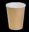 """Бумажный стакан для горячих напитков 450мл (1-сл) """"крафт"""""""