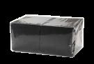 Салфетки 1-сл. 33-см Черные 300л/упак.