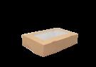 Картонный контейнер с окном 100/80/35 300мл(самосборный EcoTabox 300)