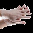 Перчатки виниловые неопудренные (размер L) 100ш