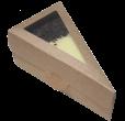 """Коробка для """"чизкейка""""  ламинированная"""
