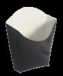 "Коробка для картофеля-фри 100-120гр ""L"" Черная"