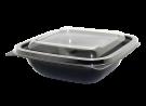 """Пластиковый контейнер c крышкой СпК-1212 250мл (комплект) """"Кубик"""""""