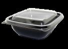 """Пластиковый контейнер c крышкой СпК-1212 500мл (комплект """"Кубик"""")"""