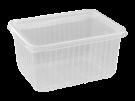 Пластиковый контейнер 179*132 1500мл с крышкой