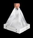 Пакет ПЭ для переноски коробок для пиццы 24-36см