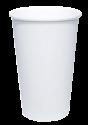 """Бумажный стакан для горячих напитков 500мл (1-сл) """"белый"""""""