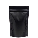 """Пакет """"Дой-Пак"""" 105*150 металлизированный черный матовый+zip-lock"""