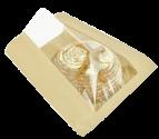 Пакет бумажный 370/140/70 с окном (лаваш)