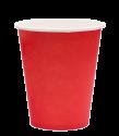 """Бумажный стакан для горячих напитков 350мл (1-сл) """"красный"""""""