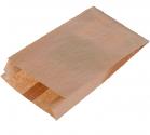 """Пакет бумажный с плоским дном """"КРАФТ"""" 300*170*80"""
