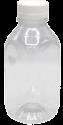 """Бутылка 500мл """"КВАДРАТ"""" с широким горлом (38мм)+крышка"""