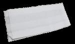 """Бумажный пакет жиростойкий 330*200*90мм """"Белый"""""""