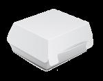 """Коробка для бургера """"Белая"""" 120/120/70мм                                 ."""