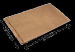 """Пакет бумажный с плоским дном """"КРАФТ"""" 350*200*100мм"""