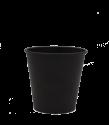 """Бумажный стакан для горячих напитков 100 МЛ (1-сл) """"черный Total"""""""