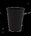 """Бумажный стакан для горячих напитков 250мл (1-сл) """"черный Total"""""""