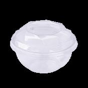 Пластиковый контейнер круглый 200мл (КД-117)