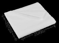 """Жиростойкая (оберточная) бумага 39см*39см """"белая"""""""