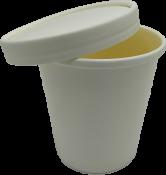 Супница с крышкой 470мл (белая Eco Soup 16W)