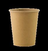 """Бумажный стакан для горячих напитков 250мл (1-сл) """"Total Kraft"""""""