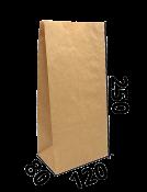 """Бумажный пакет без ручек """"А"""" 120/80/250"""